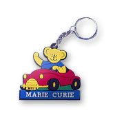 Key ring for Marie Curie Cancer Care.